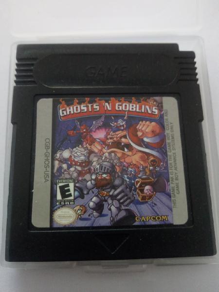 Ghosts n goblins nintendo game boy gameboy color