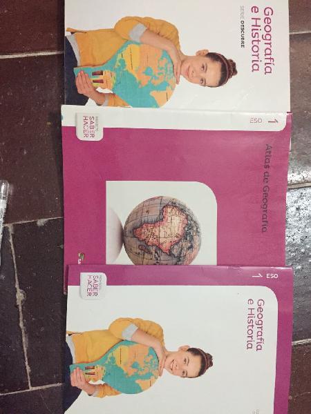 Libros geografía 1eso