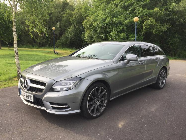 Mercedes cls 350 cdi shooting brake