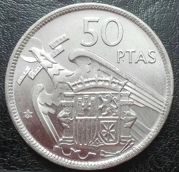 Moneda 50 pesetas 1957*59