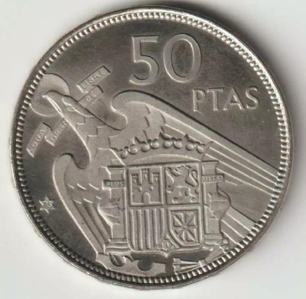 Moneda 50 pesetas 1957*75