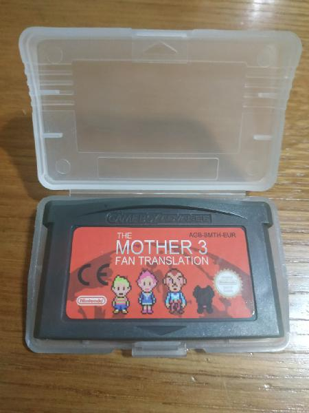 Mother 3 español para gameboy advance nintendo gba