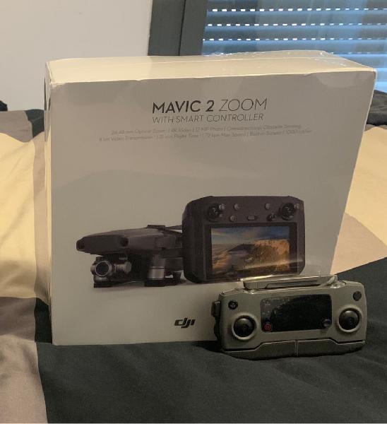 Mavic 2 zoom con smart controller + case +2control