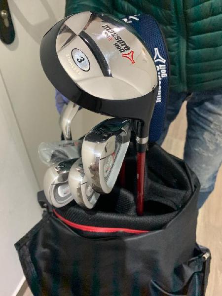 Medio juego palos de golf nuevo