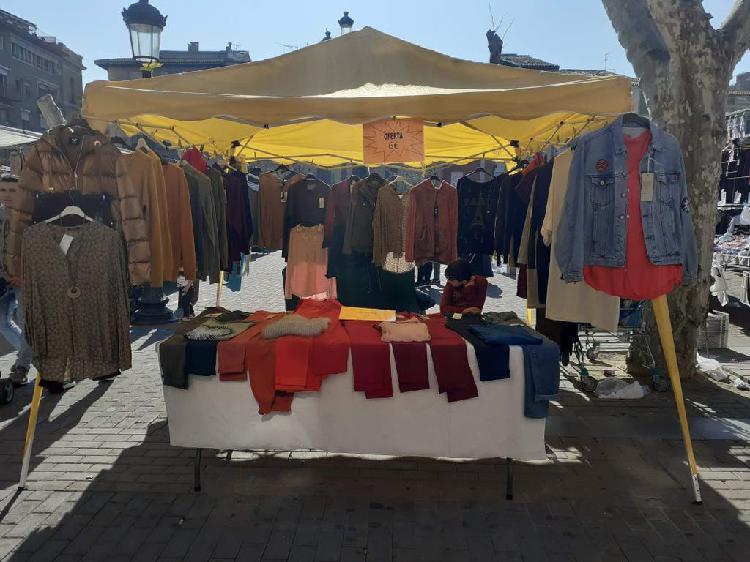 Parada mercado 3x3m