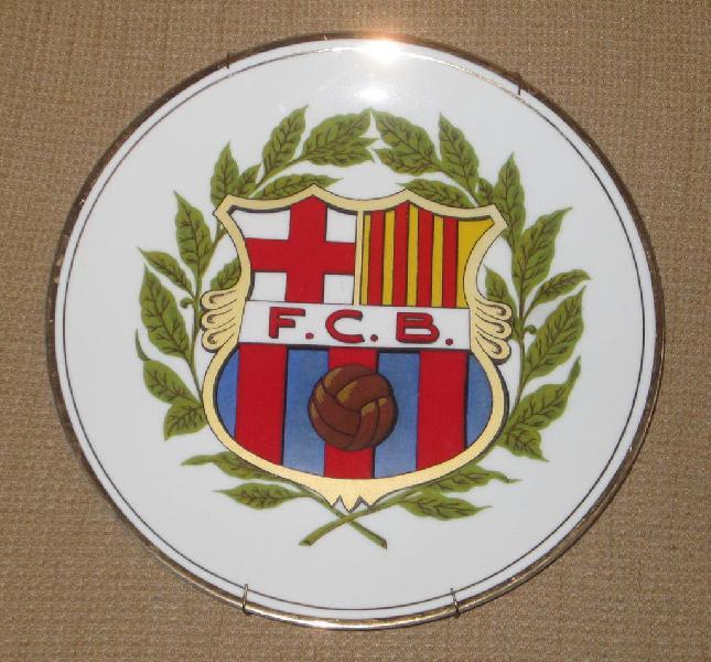 Plato del f.c.barcelona