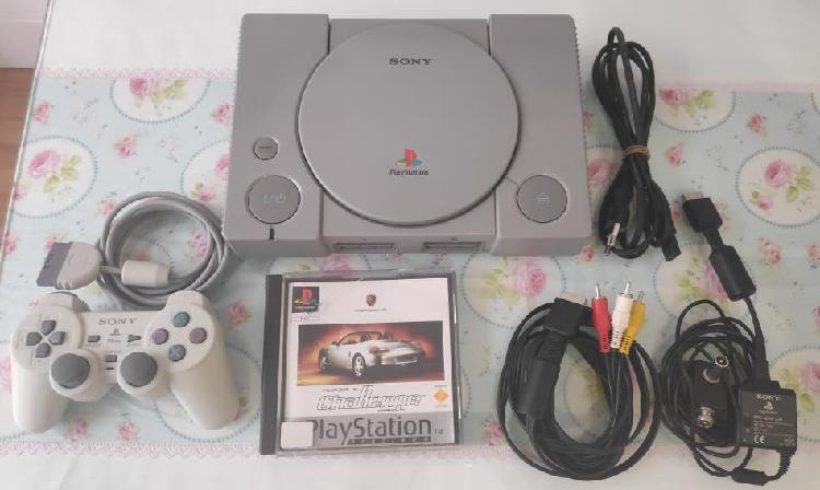 Play station 1 psx one consola completa+juego