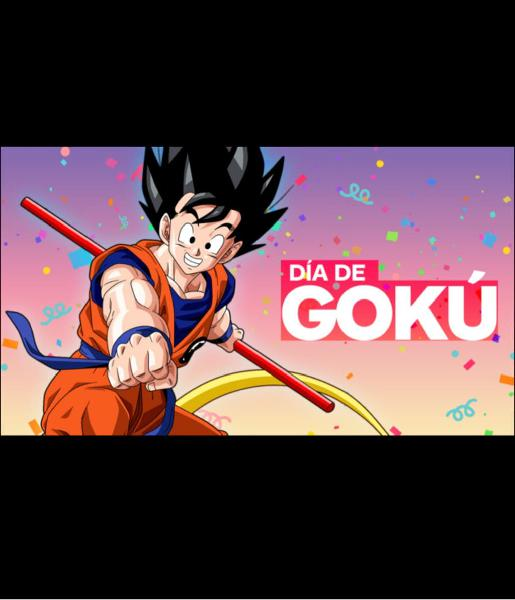 Promocion feliz dia de goku!! visita mi perfil
