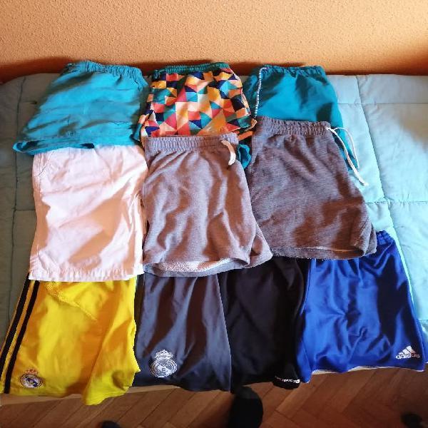 Pack ropa - pantalones cortos y bañadores chico