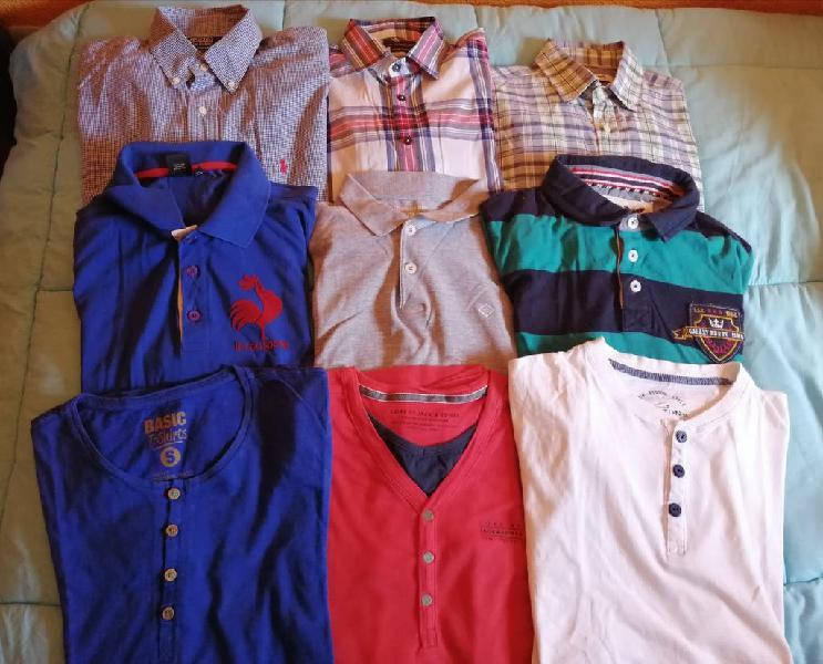 Pack ropa - polos, camisetas de vestir y camisas