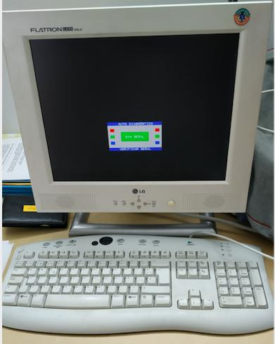 "Pantalla lg 15"" vga + teclado logitech"