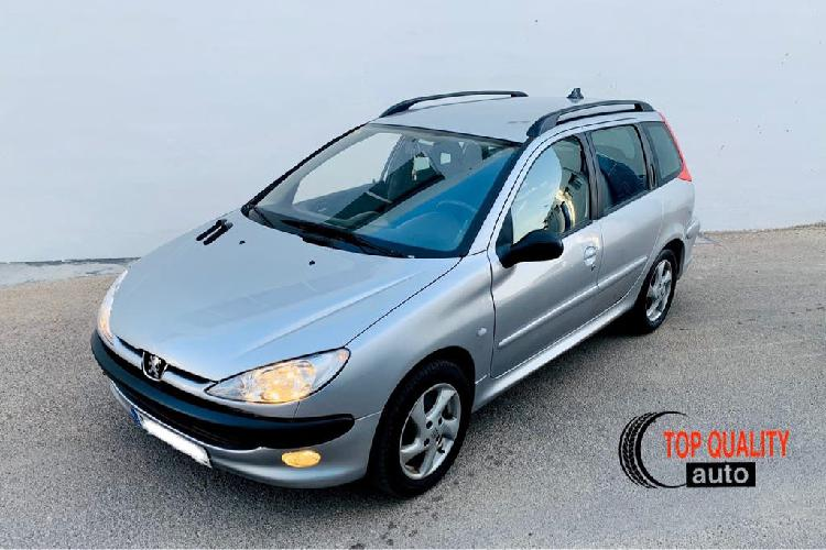 Peugeot 206 sw 1.6i. 75000km!!!! impecable