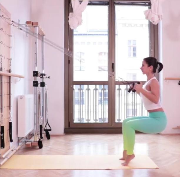 Pilates con máquinas en casa