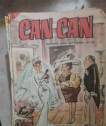 Revistas años 60 can-can