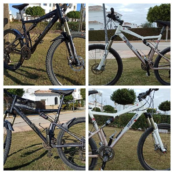 Rockrider 9.2 mountain bike full suspension