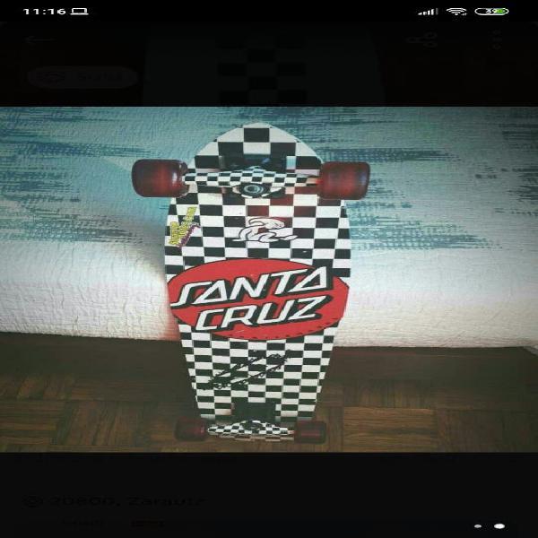 Skate longboard santa cruz