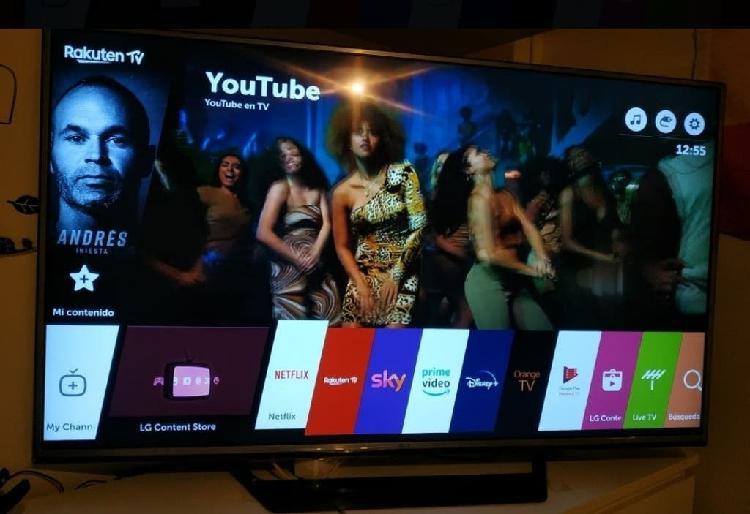 Smart tv wi-fi led lg 55uh625v 4k oled ultra