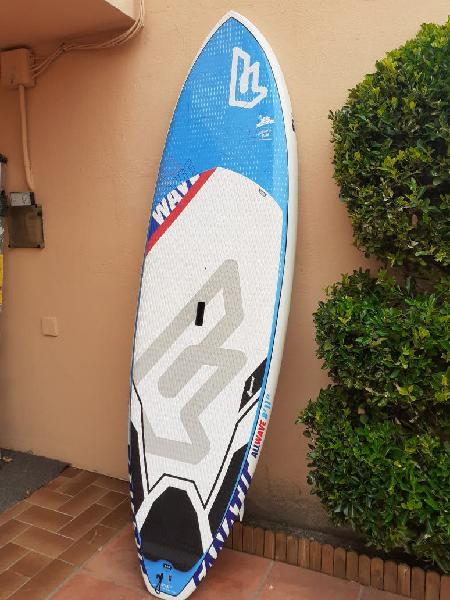 Stand up paddle surf fanatic all waves