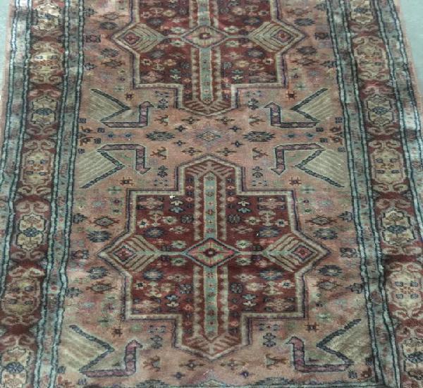 Tradicional persa alfombra, 170 x 94 cm de lana gruesa hecha