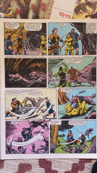 Trueno color **editorial bruguera** 1969/1975