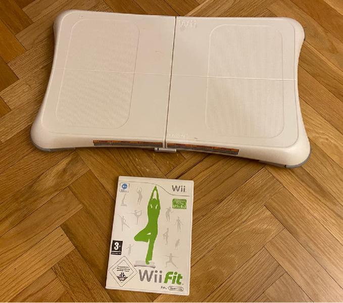 Wii balance y juego wii fit