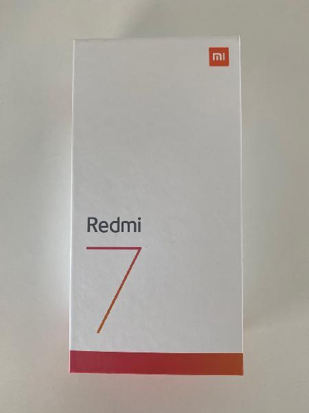 Xiaomi redmi 7 3gb ram 32gb [precintado]
