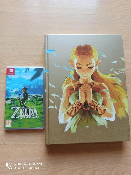 Zelda breath of the wild para nintendo switch.