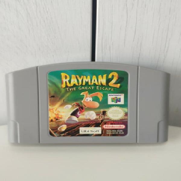 Juego rayman 2 de consola nintendo 64