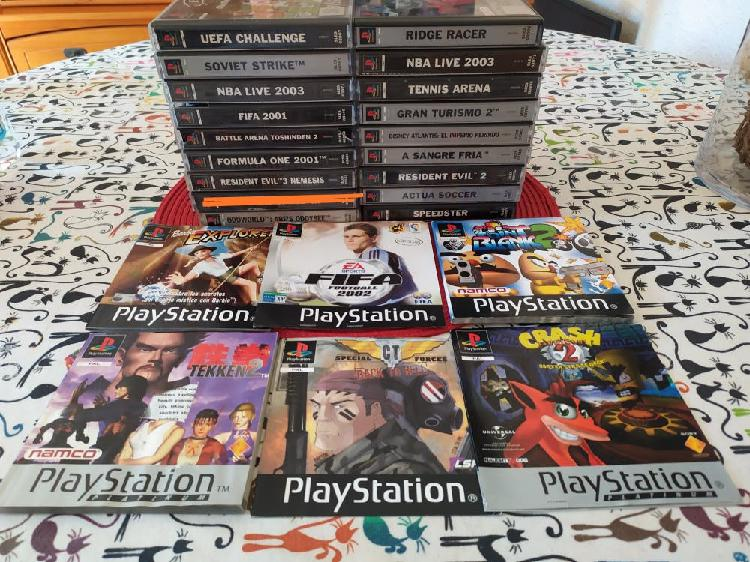 Juegos ps1 psx, psone, playstation original