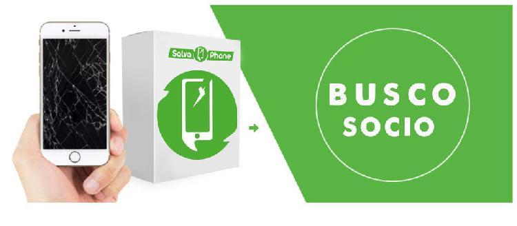 Socio ampliar negocio de móviles y ordenadores
