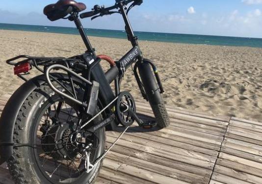 "Bici eléctrica ""rawbike"" negro"