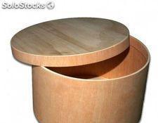 Caja redonda gigante