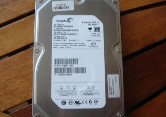 Disco duro hhd seagate barracuda 7200- 250gb-sata
