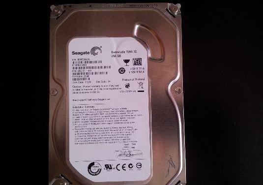 Disco duro 250 gb seagate de 250 gb sata