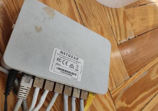 Ethernet switch 8 puertos