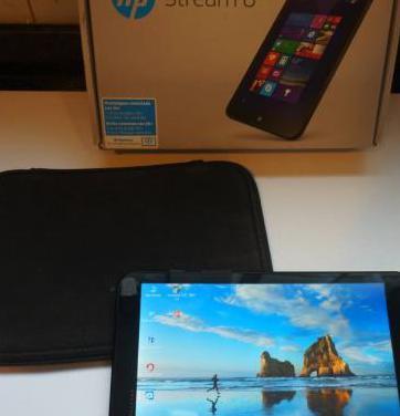 Hp stream 8 tablet windows 10,con 3g funda