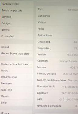 Ipad 3th generation 64gb wifi cellullar