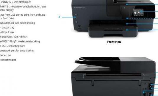 Impresora hp multifunción color