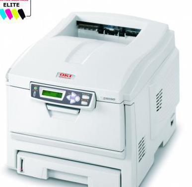 Impresora laser color oki c5250