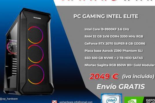 Pc gaming intel elite