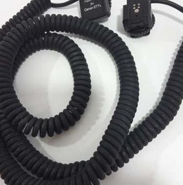 Tokura cable alargador 5m. ettl canon