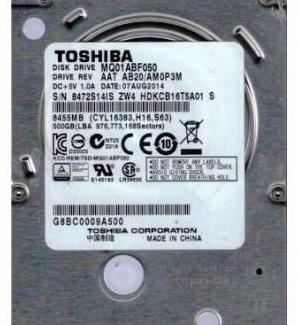 Toshiba mq01abf050 - disco duro interno de 500 gb