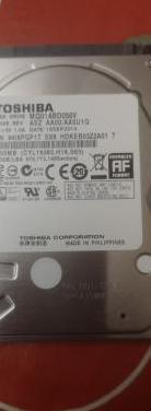 Disco duro 500gb 2.5 sata toshiba