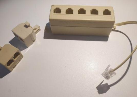 Distribuidor/separador/conector telefono rj11