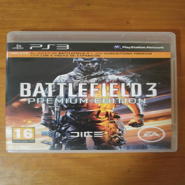 Battlefield 3 premium edition ps3 playstation3