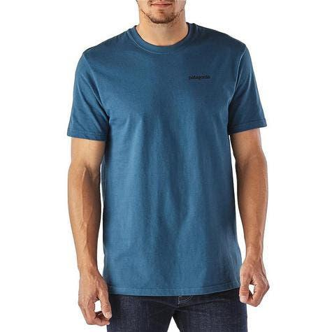 Camiseta patagonia p-6 logo cotton