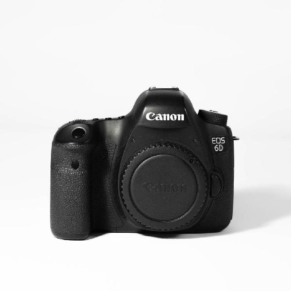 Canon eos 6d - cámara réflex profesional
