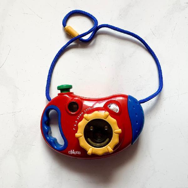 Cámara de fotos niño
