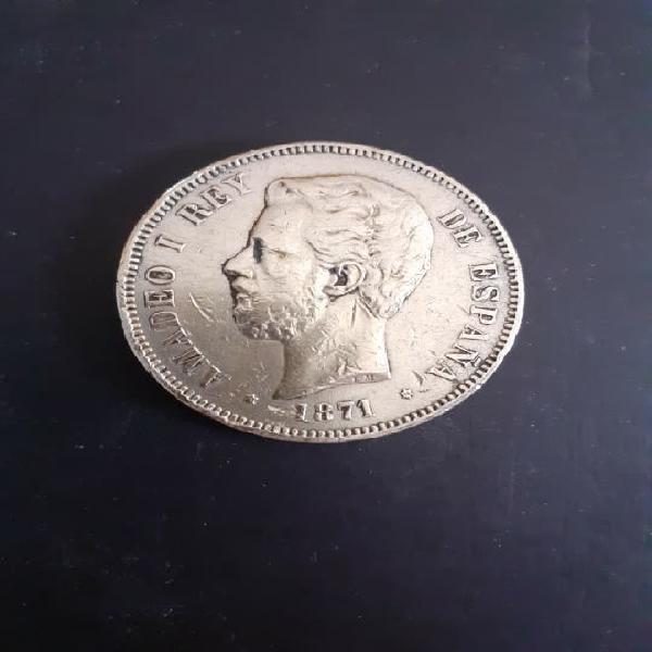 Duro de plata 1871