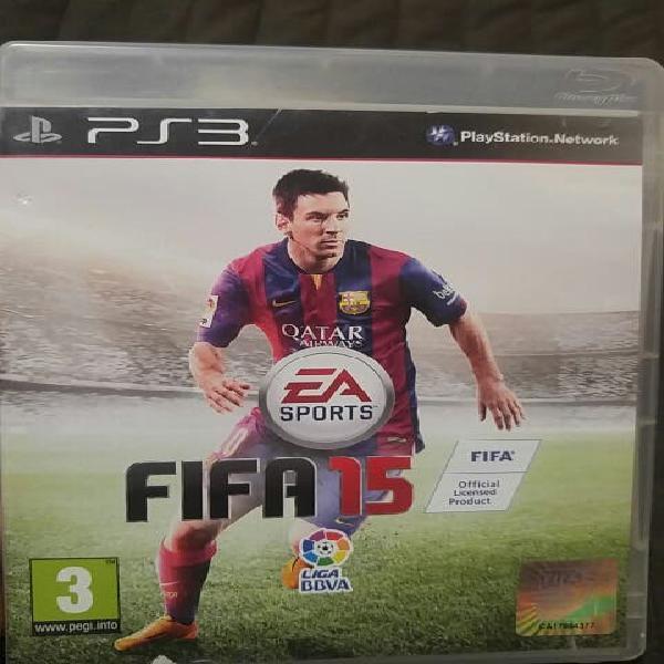 Fifa 15 ps3 playstation3 videojuegos